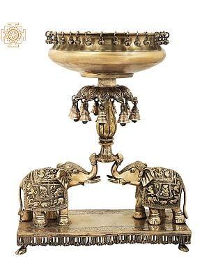 The Royal Elephant Urli with Bells