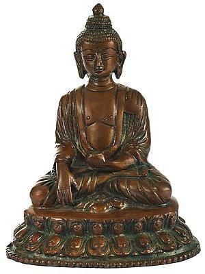 Bhumisparsha Lord Buddha in State of Meditation