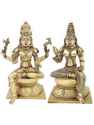 Lord Shiva as Pashupatinath with Goddess Parvati