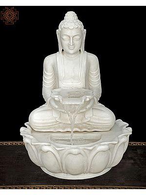 Buddha Water Fall Fountain