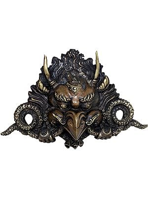 Garuda Wall Hanging Mask - Tibetan Buddhist Mask From Nepal