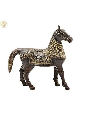 """6"""" Decorated Horse 