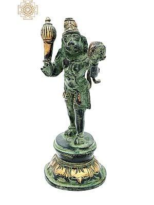 Lord Hanuman Carrying Sanjeevani Mountain