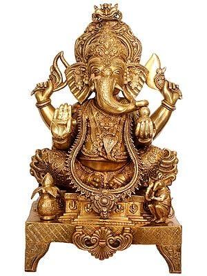 Large Size Lord Ganesha in Ekadanta Manifestation