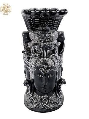 Mukhalingam (Shiva, Parvati and Ganesha on Rear Side)