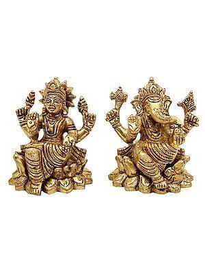 Lakshmi Ganesha (The Pair of Auspiciousness)