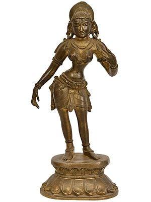 Standing Apsara
