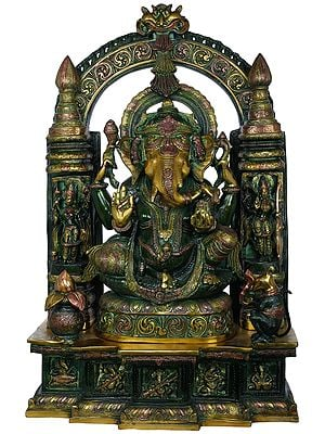 Large Size Temple Ganesha