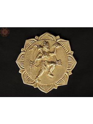 Lord Hanuman Wall Hanging Plate
