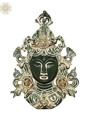 Tibetan Buddhist Goddess Tara Mask (Wall Hanging)