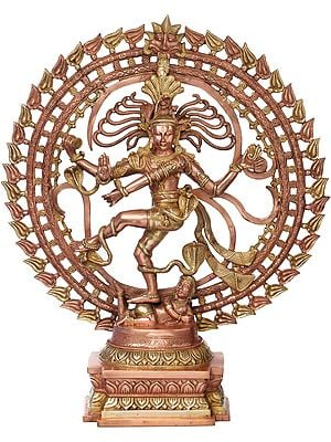 Large Size - Nataraja in OM
