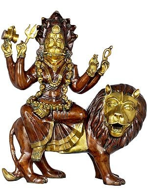 The Invincible Pratyangira (Atharvana Bhadrakali)