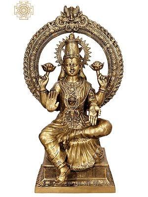 Super Large Size Goddess Lakshmi on Lotus