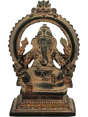 Ganesha with Aureole