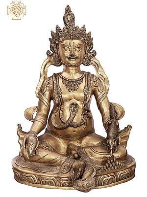 Large Size Kubera (God of Wealth) - Tibetan Buddhist