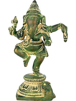Small Dancing Ganesha