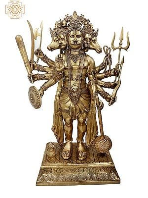 Super Large Panchamukha Hanuman (The Mystery of Shri Hanuman with Five Heads)