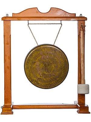 Tibetan Buddhist Monastery Gong