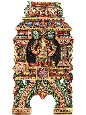 Standing Ganesha Wall Hanging