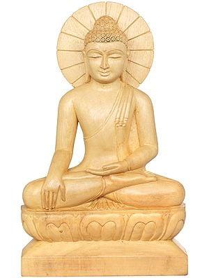 Tibetan Buddhist Lord Buddha in Earth Witness Gesture