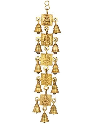 Ganesha Wall Hanging Bells