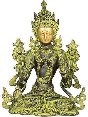 Goddess Green Tara -Tibetan Buddhist