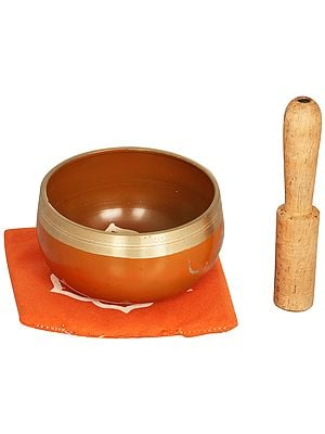 Navel/Sacral Chakra Singing Bowl - Tibetan Buddhist