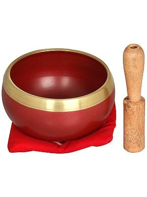 Root/Support Chakra Singing Bowl - Tibetan Buddhist