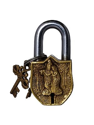 Radha Krishna Temple Lock