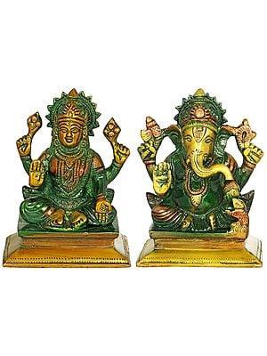 Lakshmi Ganesha - Small Size