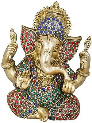 Inlay Blessing Ganesha