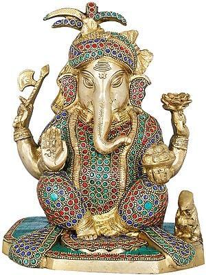 Turbaned Bhagwan Ganesha