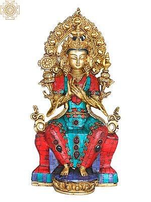 The Future Buddha Maitreya  -Tibetan Buddhist