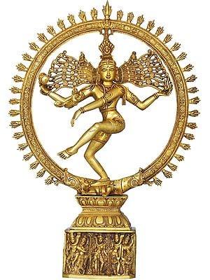 Anandatandava - The Dance of Absolute Bliss (Nataraja)