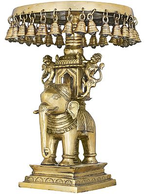 The Royal Elephant Palki Chowki With Bells