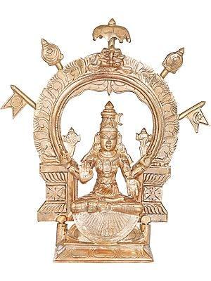Ardhapadmasana Devi Mookambika