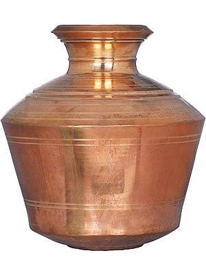 Copper Puja Kalasha