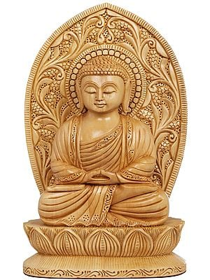 Padmasana Lord Buddha, The Very Picture Of Equanimity