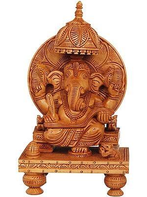 King Ganesha Writing Om Namah Shivaya