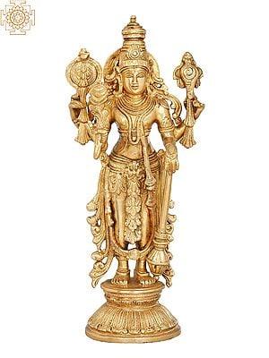 Four Armed Standing Lord Vishnu