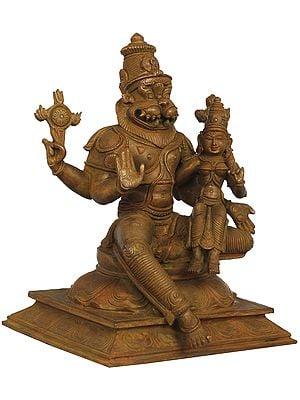 Bhagawan Narasimha With Bhudevi