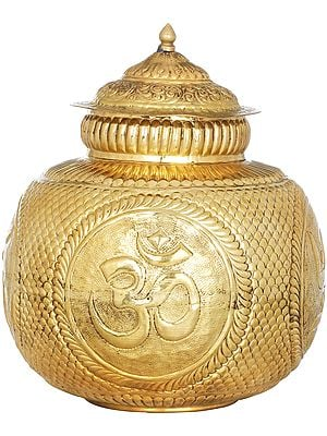OM Puja Kalasha from South india