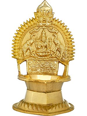 Gajalakshmi Puja Lamp