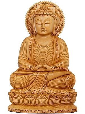 Tibetan Buddhist Lord Buddha in Dhyana (Meditation)