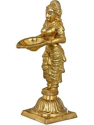 Long Braided Deepalakshmi