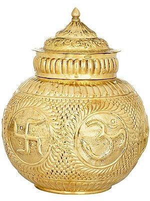 OM (AUM) Puja Kalasha