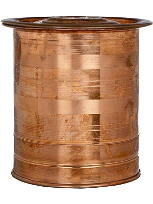 Rice Copper Container