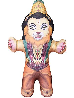 Narasimha Stuffed Doll