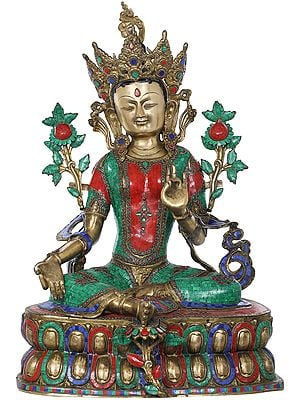 Large Size Savior Goddess Green Tara - Tibetan Buddhist