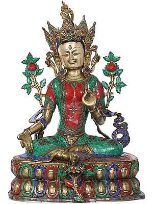 Emerald Tara, The Khadiravani Bodhisattva